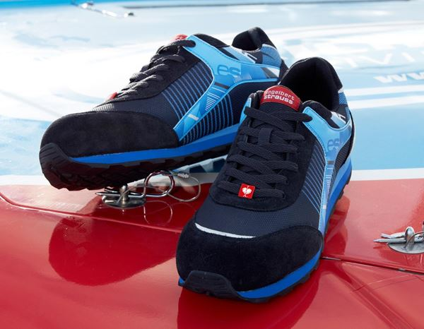 S1: e.s. S1 Safety shoes Sirius + graphite/gentian blue 1