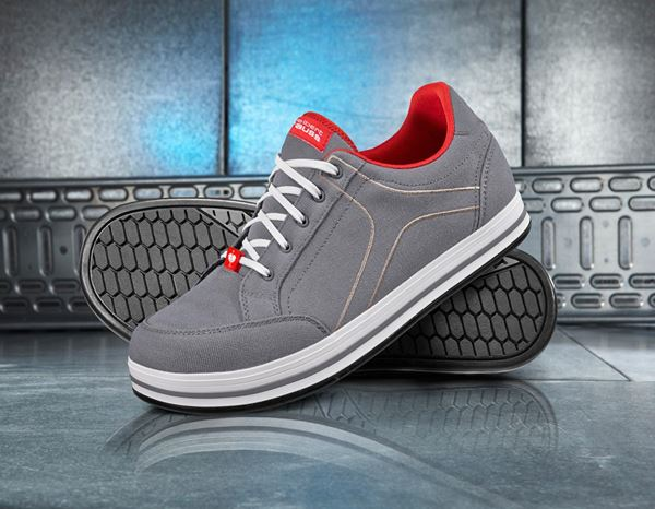 S1: e.s. S1 Safety shoes Tolosa low + cement/stone 1