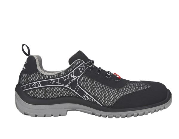 Safety Shoes S1: e.s. S1 Safety shoes Spider + black/grey