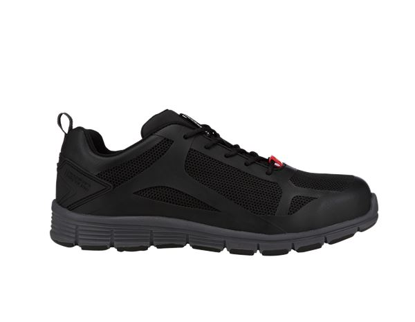 e.s. S1 Safety shoes Romulus low black