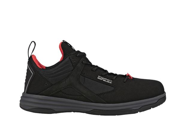 Safety Shoes S1: e.s. S1 Safety shoes Polana low + black