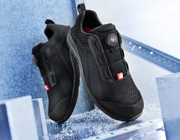 Safety Shoes S1: e.s. S1 Safety shoes Tegmen II low + black/graphite 1
