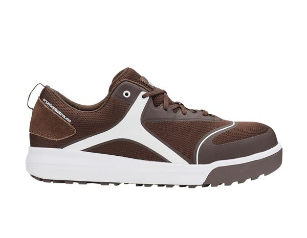 Safety Shoes S1: e.s. S1 Safety shoes Vasegus low + chestnut