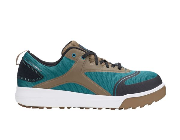 Safety Shoes S1: e.s. S1 Safety shoes Vasegus low + darkcyan