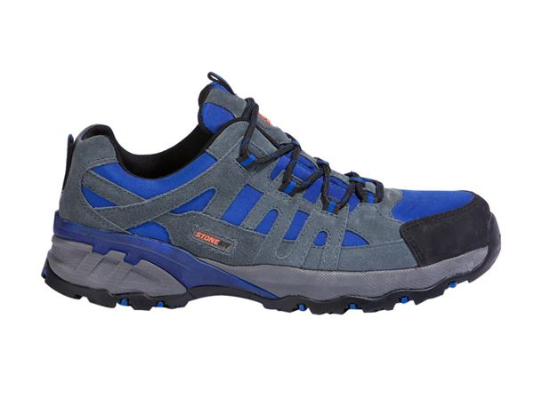 S1P: STONEKIT S1P Safety shoes Ascona + grey/blue