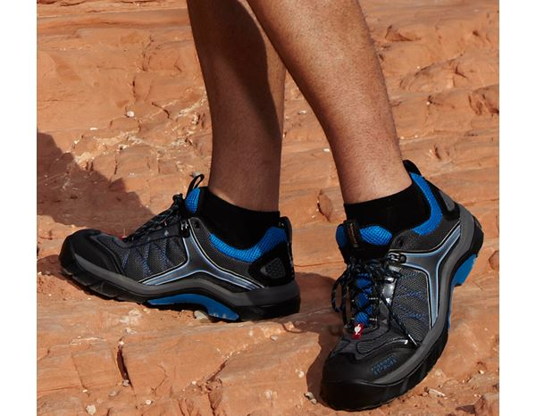 Safety Shoes S1: e.s. S1 Safety shoes Stardust + anthracite/black/blue 1