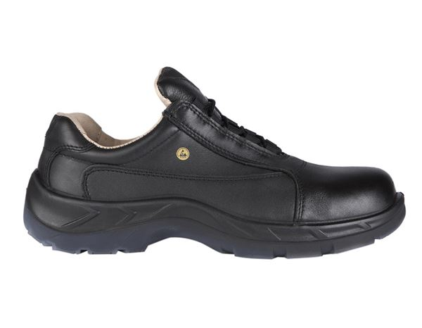 S2 Safety shoes Lugano black