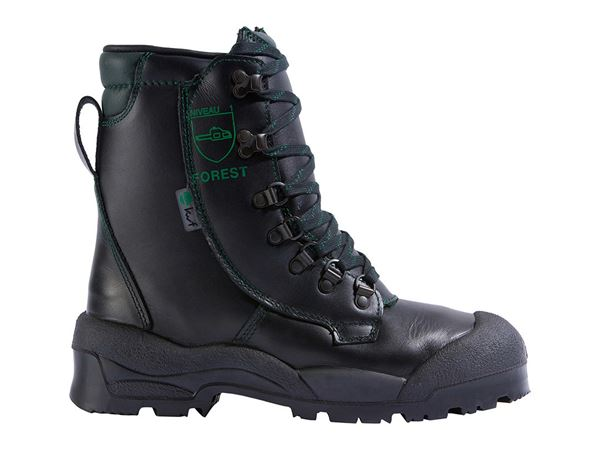 S2 Forestry safety boots Alpin black
