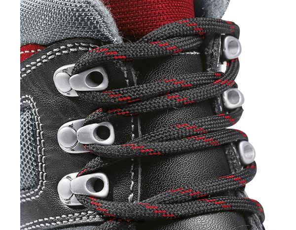 Safety Boots S3: S3 Winter safety boots Lech + black/anthracite/red 2