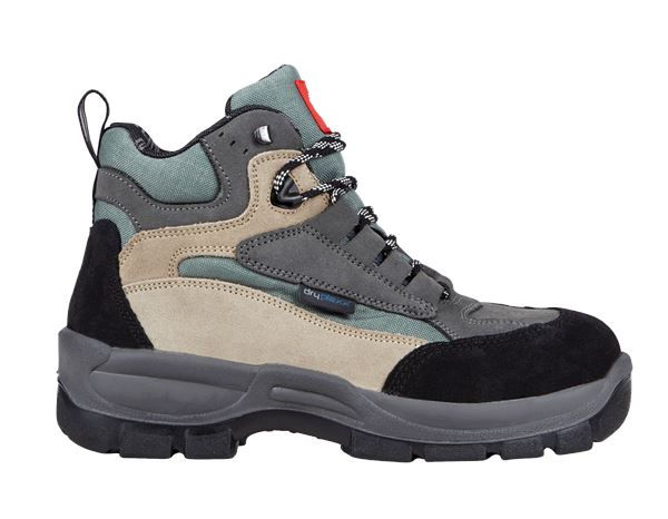 Safety Shoes S3: S3 Safety boots Rhön + olive/khaki
