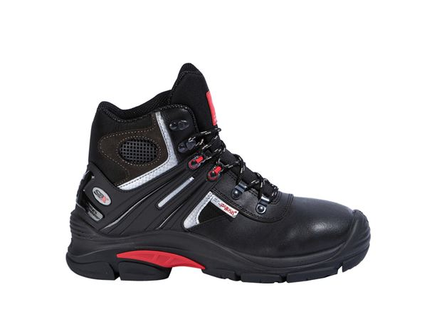 S3 Safety boots Salzburg black/red