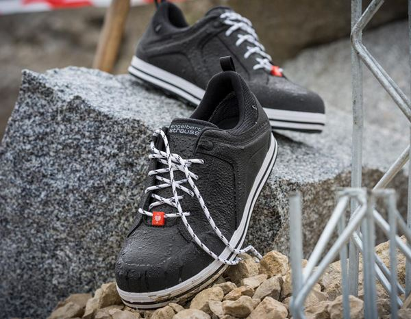 S3: e.s. S3 Safety shoes Spes low + black 1