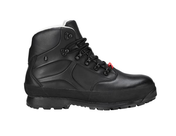 Safety Shoes S3: e.s. S3 Safety boots Tartaros mid + black
