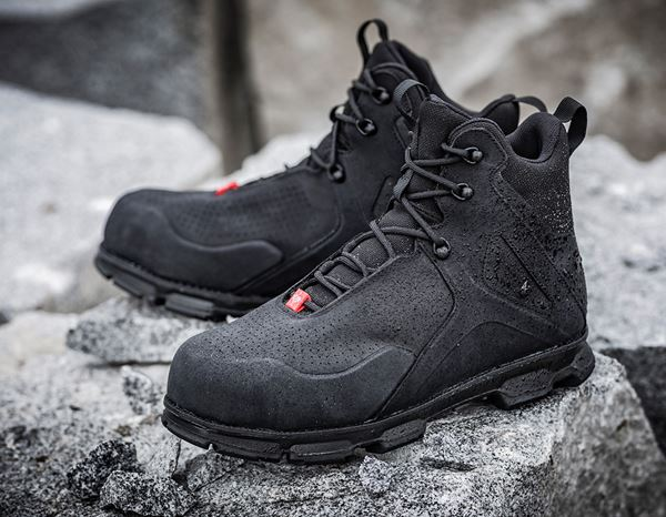 S3: e.s. S3 Safety boots Barrex mid + black 1