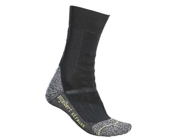Socks: e.s. Allround functional socks light/high + black