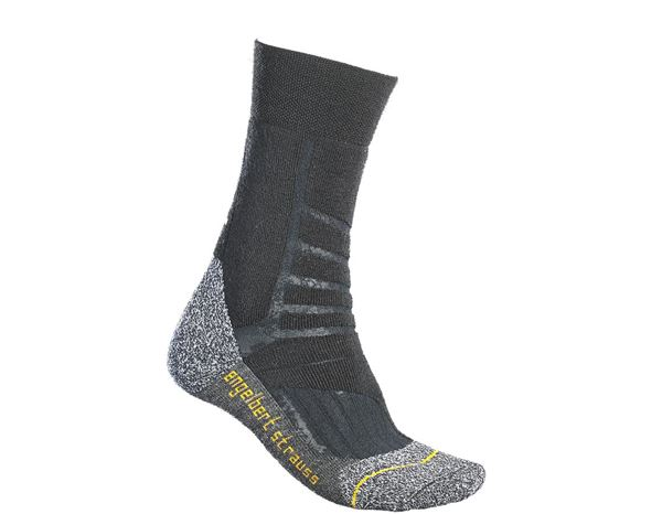 Socks: e.s. Allround socks function warm/high + black