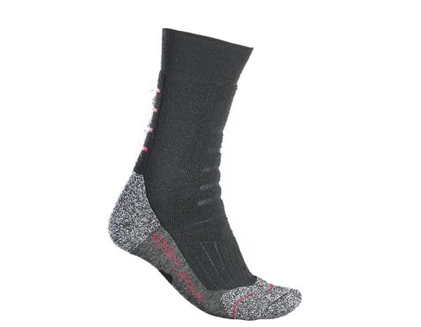 Socks: e.s. Allround socks function x-warm/high + black