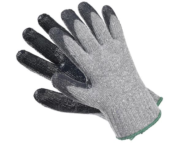 Coated: Nitrile knitted gloves Nitrile Basic