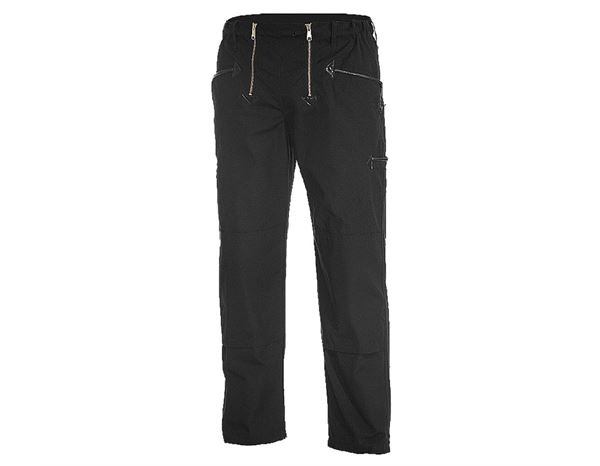 Work Trousers: Craftman's Work Trousers Alois + black