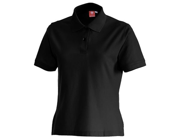 Shirts, Pullover & more: e.s. Polo shirt cotton, ladies' + black
