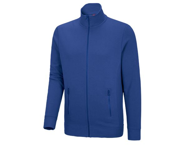 Shirts, Pullover & more: e.s. Sweat jacket poly cotton + royal