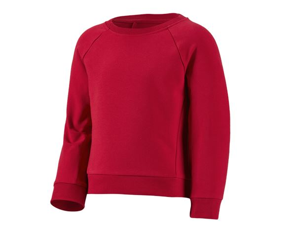 Shirts, Pullover & more: e.s. Sweatshirt cotton stretch, children's + fiery red