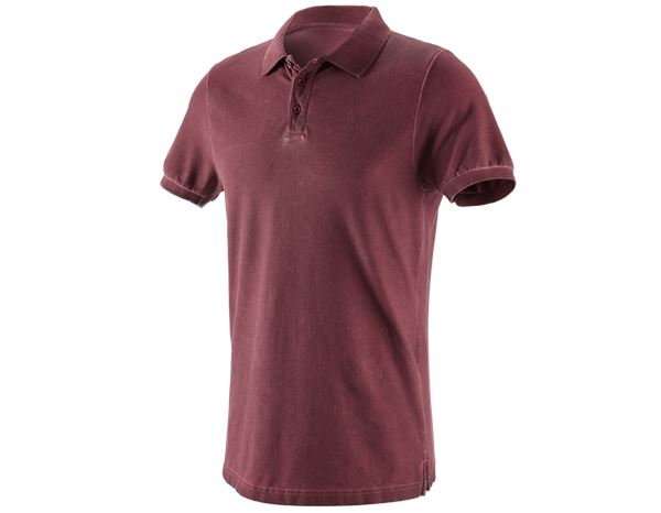 Shirts, Pullover & more: e.s. Polo shirt vintage cotton stretch + ruby vintage