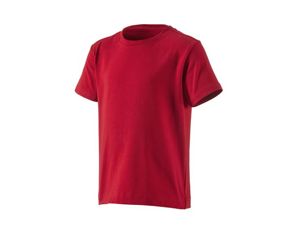 Shirts, Pullover & more: e.s. T-Shirt cotton stretch, children's + fiery red