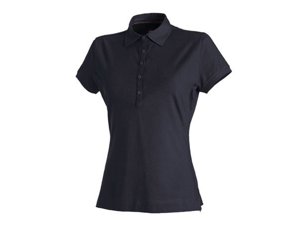Shirts, Pullover & more: Polo shirt cotton stretch, ladies' + navy