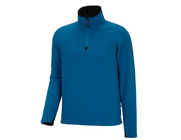 Pullover: Microfleece troyer dryplexx® micro + atoll