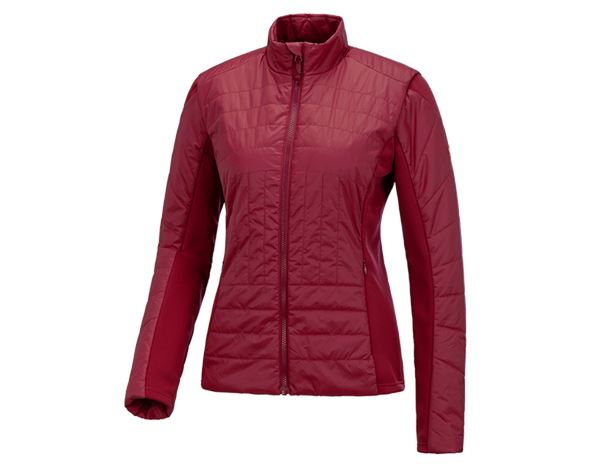 Work Jackets / Body Warmer: e.s. Function quilted jacket thermo stretch,ladies + ruby