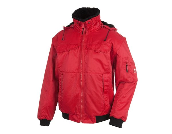 Winter Jackets: 4-in-1 Pilot Jacket Atlanta II + red