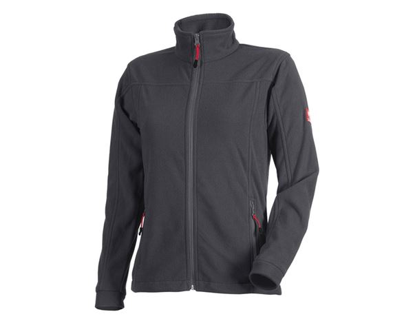 Work Jackets: Ladies' Fleece Jacket e.s.classic + anthracite