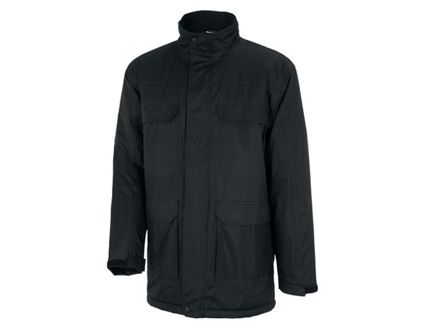 Winter Jackets: STONEKIT Parka Viborg + black