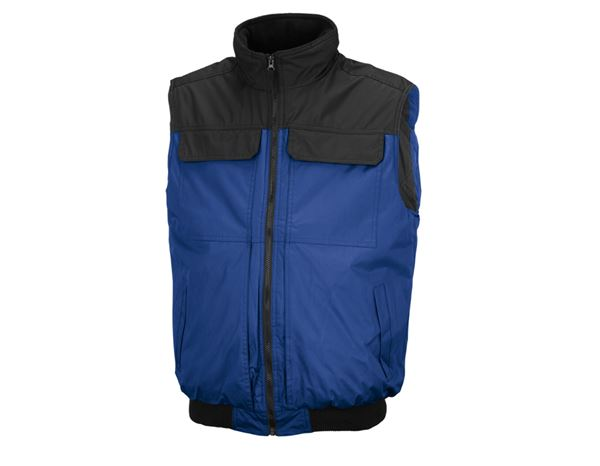 Body Warmer: STONEKIT Bodywarmer Viborg + royal/black