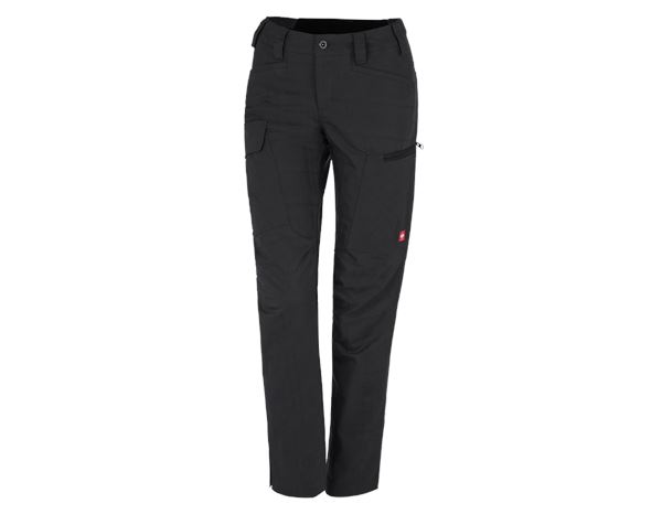 Work Trousers: e.s. Trousers pocket, ladies' + black