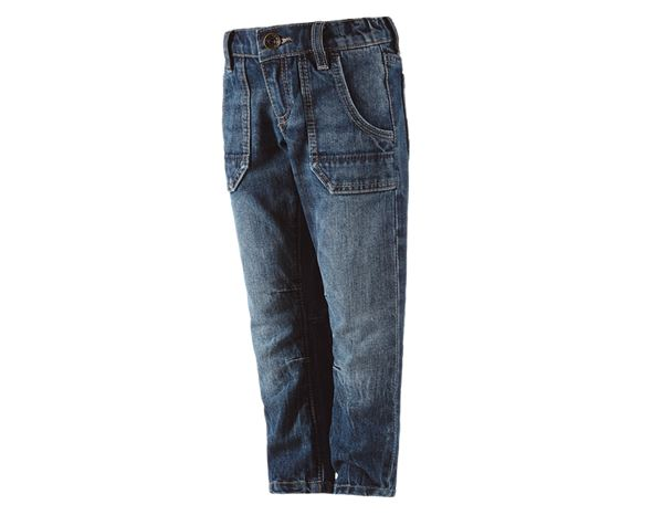 Trousers: e.s. Jeans POWERdenim, children's + stonewashed