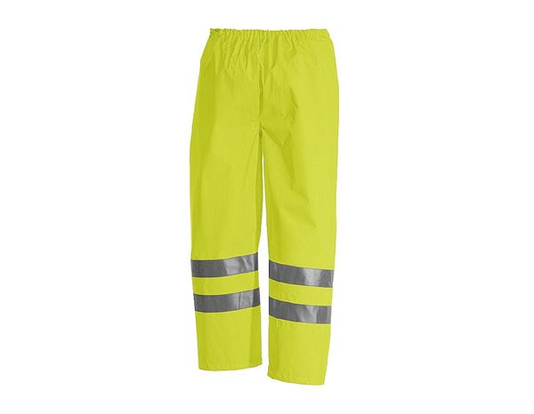 High-Vis Trousers: STONEKIT High-vis trousers + high-vis yellow