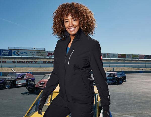 Work Jackets: Functional jacket e.s.dynashield, ladies' + black
