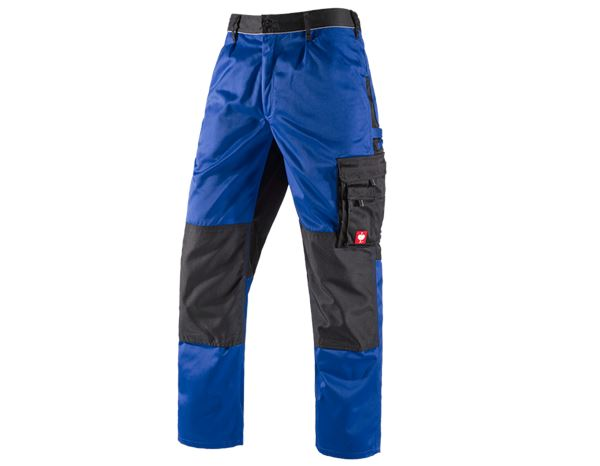 Work Trousers: Trousers e.s.image + royal/black