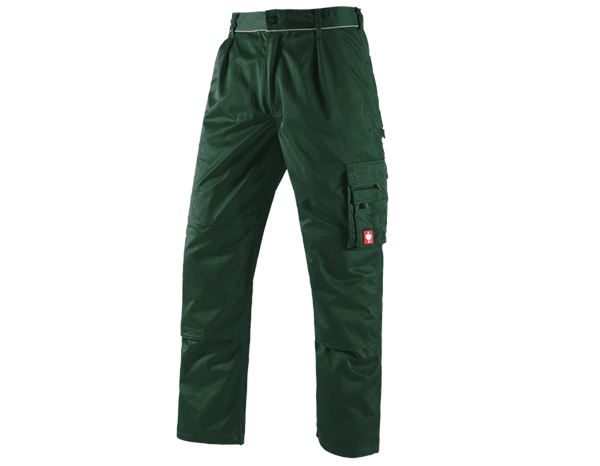 Work Trousers: Trousers e.s.classic  + green