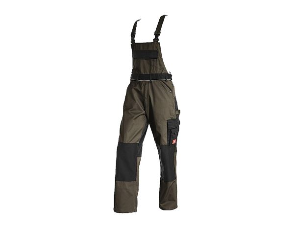 Work Trousers: Bib & Brace e.s.image + olive/black