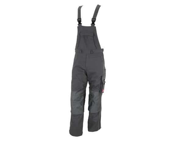 Work Trousers: Bib & brace e.s.prestige + grey