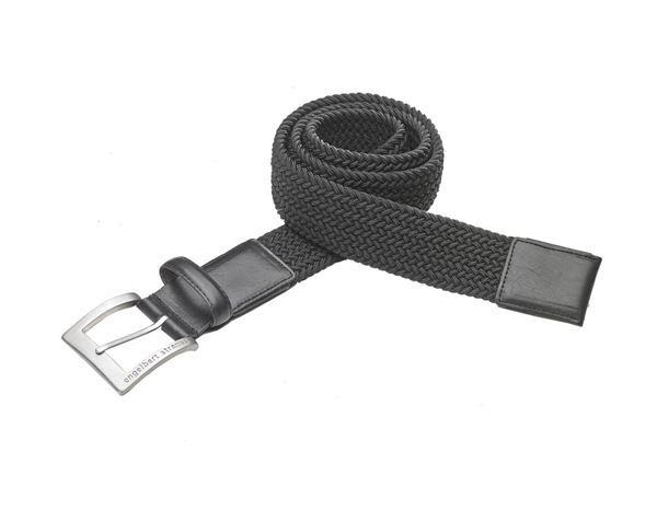Accessories: e.s. men's belt stretch + black