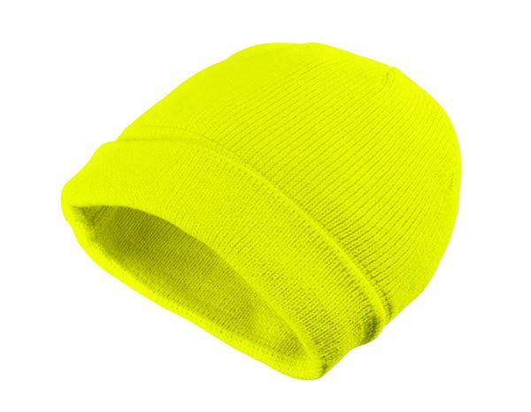 c0fcb3db232 Caps   Hats  Winter knitted cap Neon + yellow