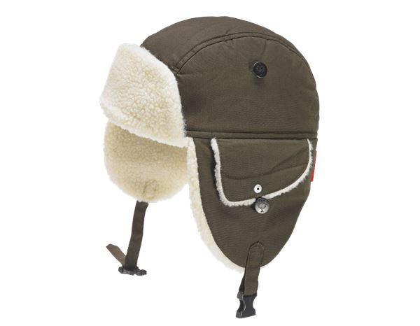 Accessories: e.s. Winter hat cotton touch + bark