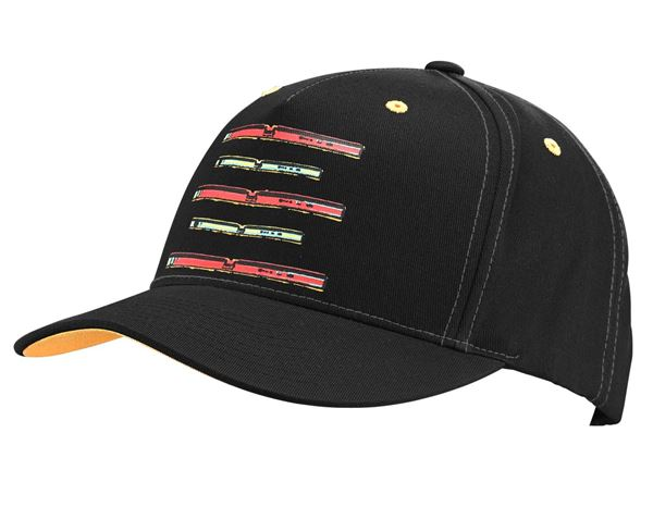 Accessories: e.s. Cap Pop Art + black/lightorange/lightred