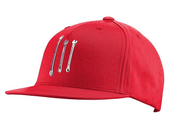 Accessories: e.s. Cap Pop Art, children's + lightred