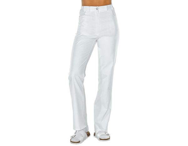 Work Trousers: Ladies' Trousers Jessie + white