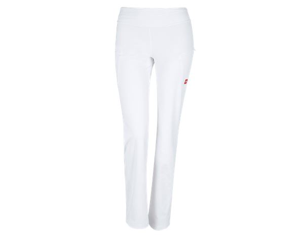 Work Trousers: e.s. Workwear jazz pants + white